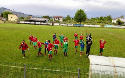 Tripudio al Burcinella: playoff e secondo posto!