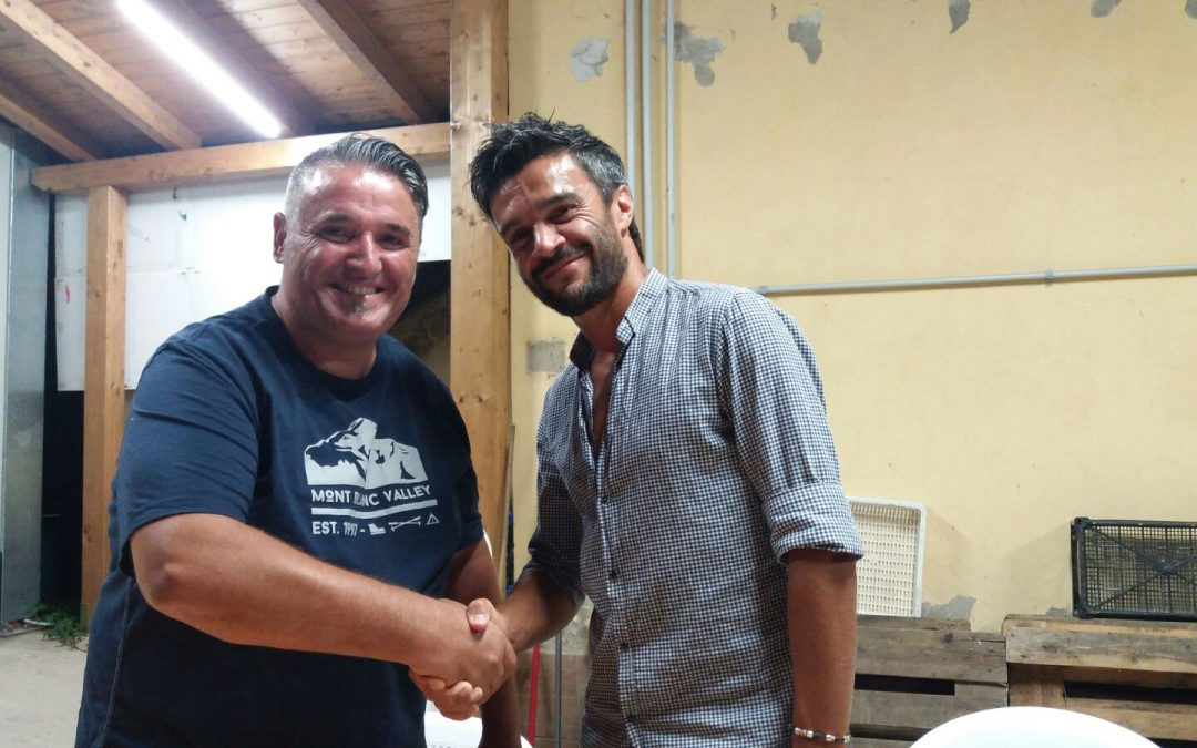 Amichevole Montepulciano. F. Monnanni nello staff tecnico