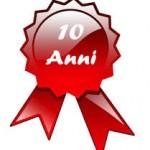 Compleanno 10 anni del sito web